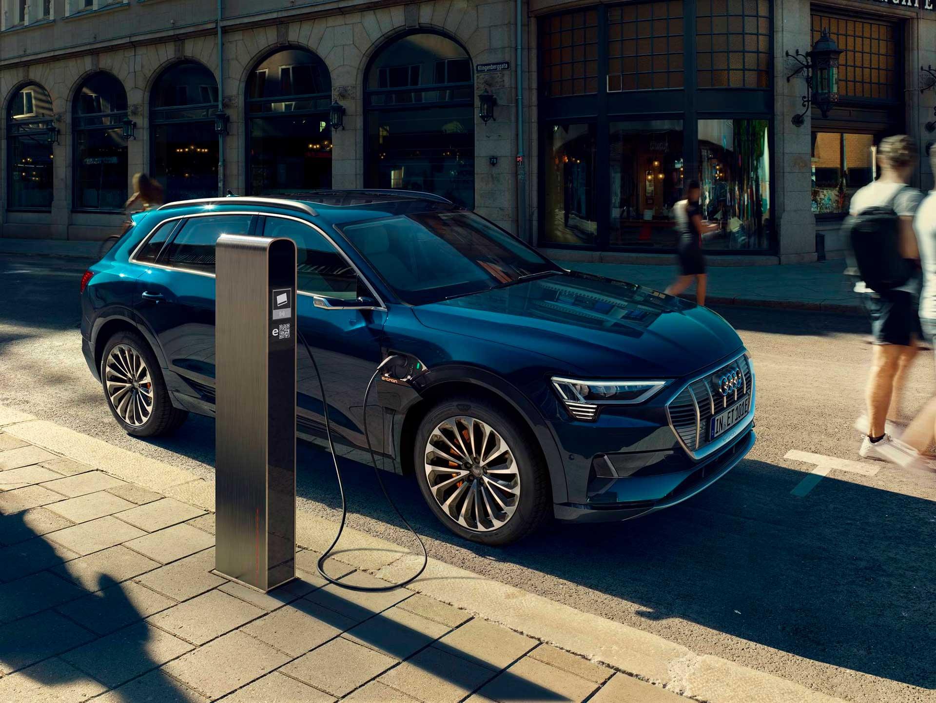 Audi e-tron – 100% el