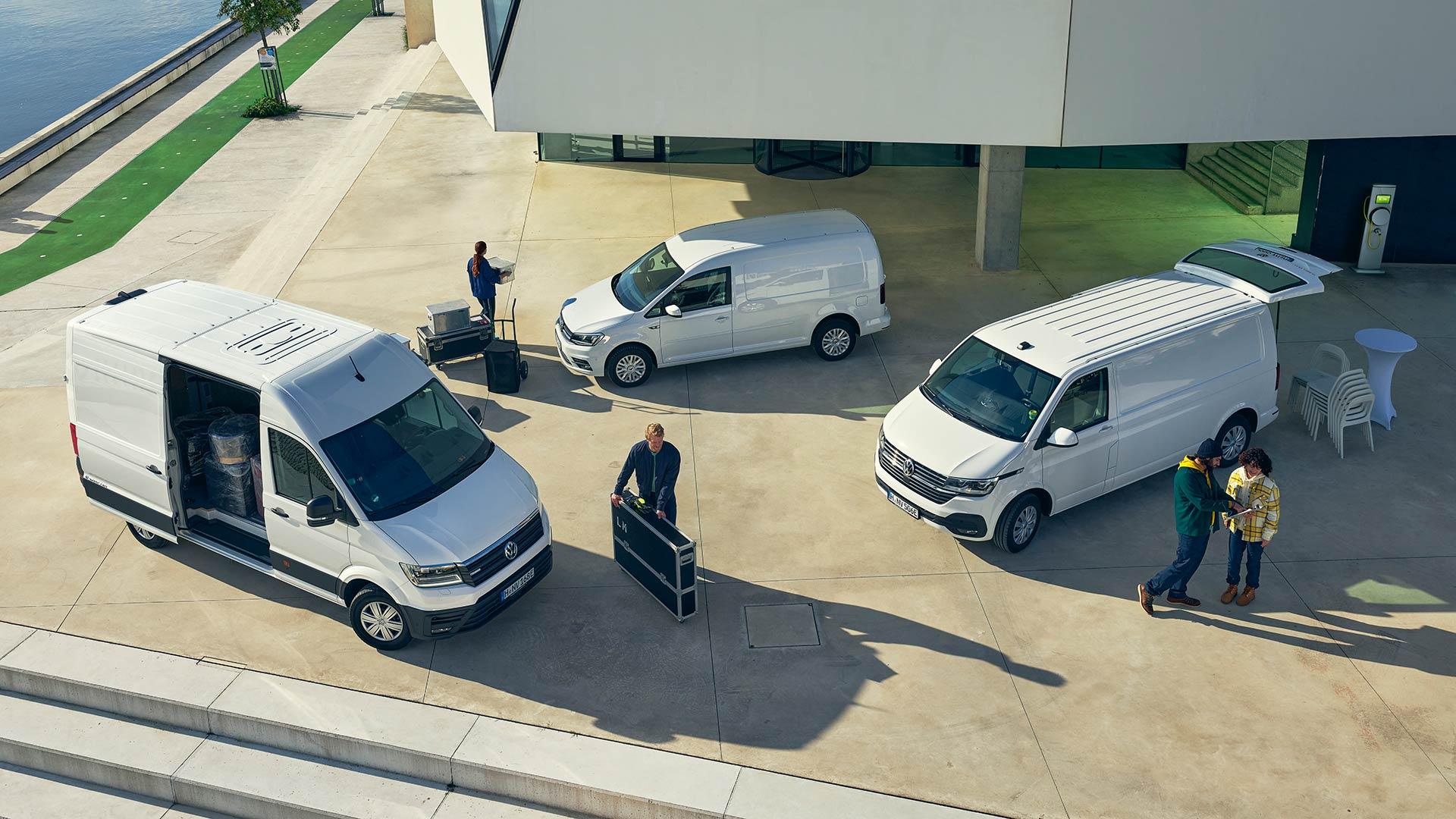 Volkswagen transportbilar i Haninge
