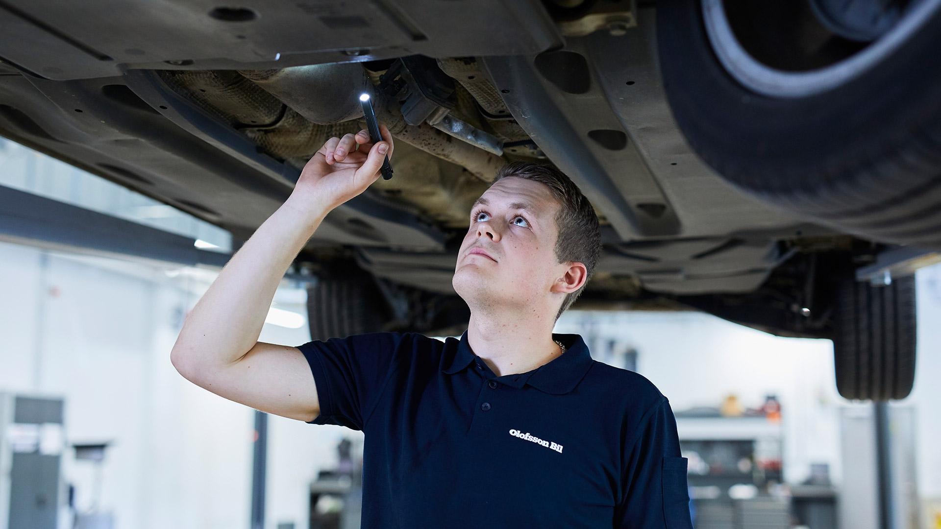 Enkelt att serva på vår auktoriserade Volkswagen verkstad